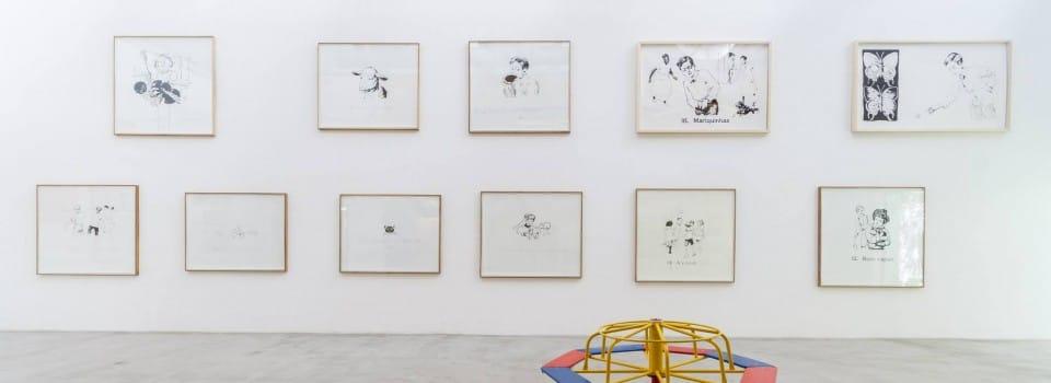 """Marcelo Amorim - vista da exposição """"Primeira Leitura'"""